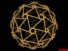Honeycomb has been in my mind, this is an awesome combination with triangles, oh geometric forms, elegant, timeless!  Geodesic Reciprocal Frame