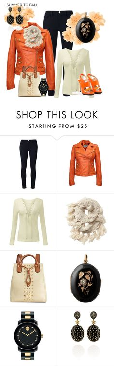 """""""layers"""" by patkova-v ❤ liked on Polyvore featuring Frame Denim, Athleta, Tommy Hilfiger, Movado, Carla Amorim and Reed Krakoff"""