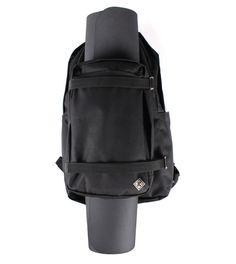 Smart design! Korut yoga bag. Support their project on Kickstarter to get one! #yoga #bag #backpack