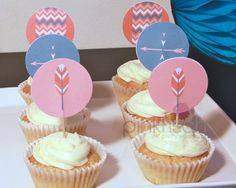 Cupcake Toppers by Pinkfisch