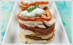 Millefoglie di pollo e pomodori - le ricette di nonsolopiccante.it