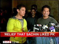 PK is the Best Film ever by Aamir Khan : Sachin Tendulkar