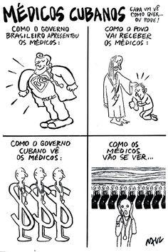 Médicos cubanos...
