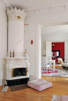 soft fireplace