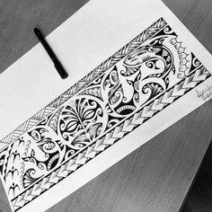 maori tattoos information Band Tattoo Designs, Armband Tattoo Design, Polynesian Tattoo Designs, Maori Tattoo Designs, Diy Tattoo, Tattoo Fixes, Tribal Forearm Tattoos, Triangle Tattoos, Knee Tattoo