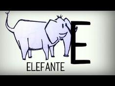 Video con canción para aprender las letras del alfabeto en español, el abecedario castellano, lengua española -- Video to learn  the spanish alphabet letters