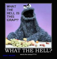 damm straight cookie monster.