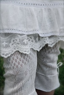 sweater bloomers are these real or made from sweater parts (real I mean like tights or just lie wrist cuffs?