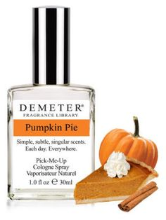 Pumpkin Pie perfume for the fall! And TONS of other ridiculous and amazing perfumes!