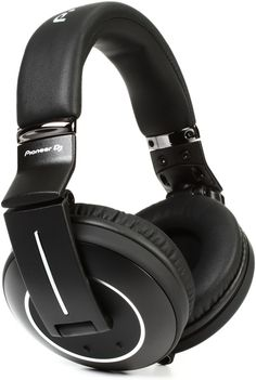 Pioneer DJ HDJ-2000MK2 Reference DJ Headphones, Black - Closed | Sweetwater.com