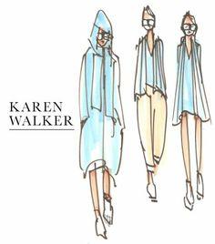 Karen Walker Sketch