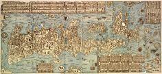 Antique Japanese map of Japan. Carte du Japon / par Ishikawa Ishikawa, Toshiyuki Ryusen (16..-17..).