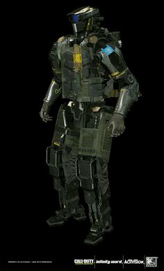 Black Ops Game, Cod Infinite Warfare, Call Of Duty Infinite, Tactical Armor, Cool Robots, Future Soldier, Robot Design, Futuristic Technology, Character Outfits