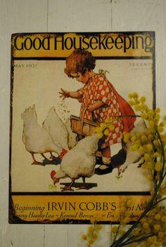 Good Housekeeping Magazine Cover - May 1927 - Jessie Wilcox Smith