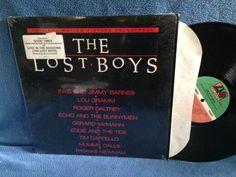 RARE Vintage The Lost Boys Original Soundtrack by sweetleafvinyl