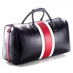 Luxurious, sleek and stylish, you can feel like a Formula One driver without ever having to get behind the wheel when you use our custom Racing Duffel Bag.
