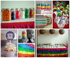 Art Party but several can be used for rainbow party !