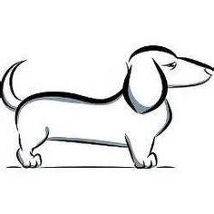 dachshund drawings - Yahoo Image Search Results