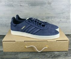 1a87ec688c2ccd Adidas Mens Originals Gazelle Crafted Trainers Limited Edition BW1250 Size  13