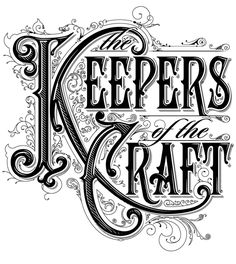 The steps of how this became, truly inspirational.... Keepers of the Craft by Bobby Haiqalsyah, via Behance