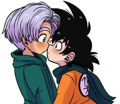 Dbz, Goku, Goten E Trunks, Cute Hamsters, Anime, Dragon Ball Z, Ships, Wattpad, Pasta