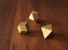 Futagami Brass Ihada Paperweights — Woonwinkel