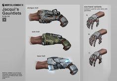 MKX: Jacqui's Gauntlets by Mr--Einikis on DeviantArt