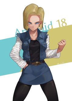 Androide 18 Dragon Ball Z, Dragon Ball Image, Dragon Girl, Manga Anime, Krillin And 18, Cartoon Crazy, Z Wallpaper, Black Spiderman, Naruto Vs Sasuke