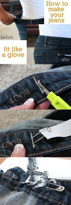 Arreglar cinturilla pantalon.