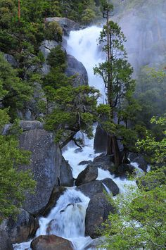 Cascade Creek, Yosemite National Park; photo by .vtgohokies