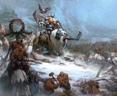 warhammer+age+of+sigmar+ogors+thundertusk+artwork+ilustration+fantasy.jpg (1280×1047)
