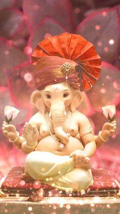 Lord Ganesha Paintings, Lord Shiva Painting, Ganesha Art, Baby Ganesha, Ganesh Idol, Ganesh Statue, Shri Ganesh Images, Ganesha Pictures, Ganesh Wallpaper