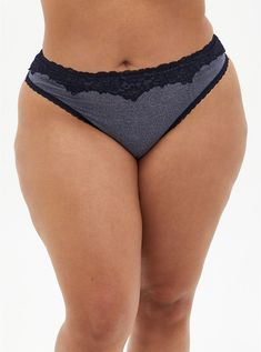 Femme Nuisette Motif Floral Bleu Lingerie Babydoll String Panty Taille Plus 1X 2X 3X 4X