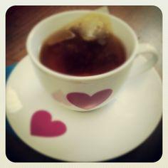 {Heartea} cup - @nnaeel1- #webstagram Tableware, Dinnerware, Dishes