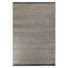 Artfully hand-woven from wool, this coolly hued rug effortlessly anchors vibrant decor.   Product: RugConstruction Mater...