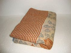 Bedding Spirited Vintage Kantha Quilt Indian Handmade Cotton Bedspread Sashiko Throw Bedding