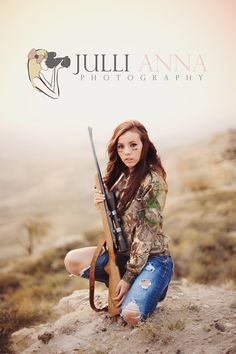 "Julli Anna photography Senior Girl photography pictures ""Hunting"" ""Outdoor"""