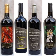 Charter Oak Winery. Best vintage 2016! charteroakwine.com Handcrafted wines, no chemicals or sugars added!