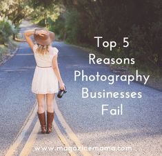 5 Reasons Photography Businesses Fail - Starting A Business - Ideas of Starting A Business - Starting a Photography Business: 5 Reasons Photography Businesses Fail Magazine Mama Senior Photography, Birth Photography Tips, Photography Marketing, Photography Lessons, Photography Services, Photography Backdrops, Photography Tutorials, Digital Photography, Amazing Photography