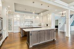 Beautiful Expectation in A Dream Kitchens: Marvelous Elegant Coastal Dream Kitchen Brick New Jersey Design Line ~ promwardrobe.com Kitchens Inspiration