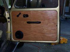 VW Beetle Door Panel Replacement