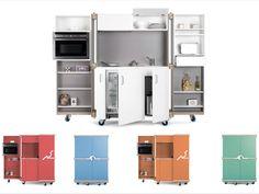 Bon plan pour les petits apparts : la cuisine qui tient dans 1m2