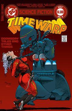 Time Warp No. 5 by Michael Wm Kaluta, July 1980, DC Comics