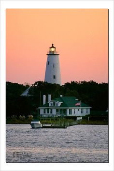 Ocracoke lighthouse, North Carolina