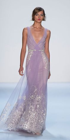 Badgley Mischka - Runway Looks We Love: Badgley Mischka - Fashion - InStyle.com