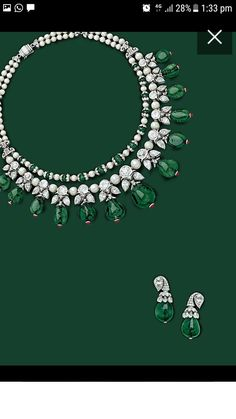 Is this really Viren Bhagat? Emerald Jewelry, Gold Jewelry, Jewellery Box, Jar Jewelry, Emerald Necklace, Indian Jewellery Design, Indian Jewelry, Real Diamond Necklace, Diamond Necklaces