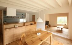 自然に空間を共有する家 施工事例 設計事務所とはじめる家づくり・注文住宅・自由設計の[neie(ネイエ)]   富山 岐阜 名古屋