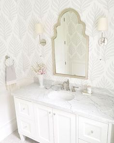 "646 Likes, 12 Comments - @krystine_edwards on Instagram: ""Beautiful clean and serene bathroom via @jshomedesign"""