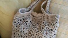 Daisy Fields Beach Bag Crochet Pattern