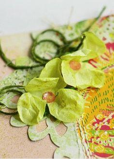 hortensje i margerytki zestaw żółty